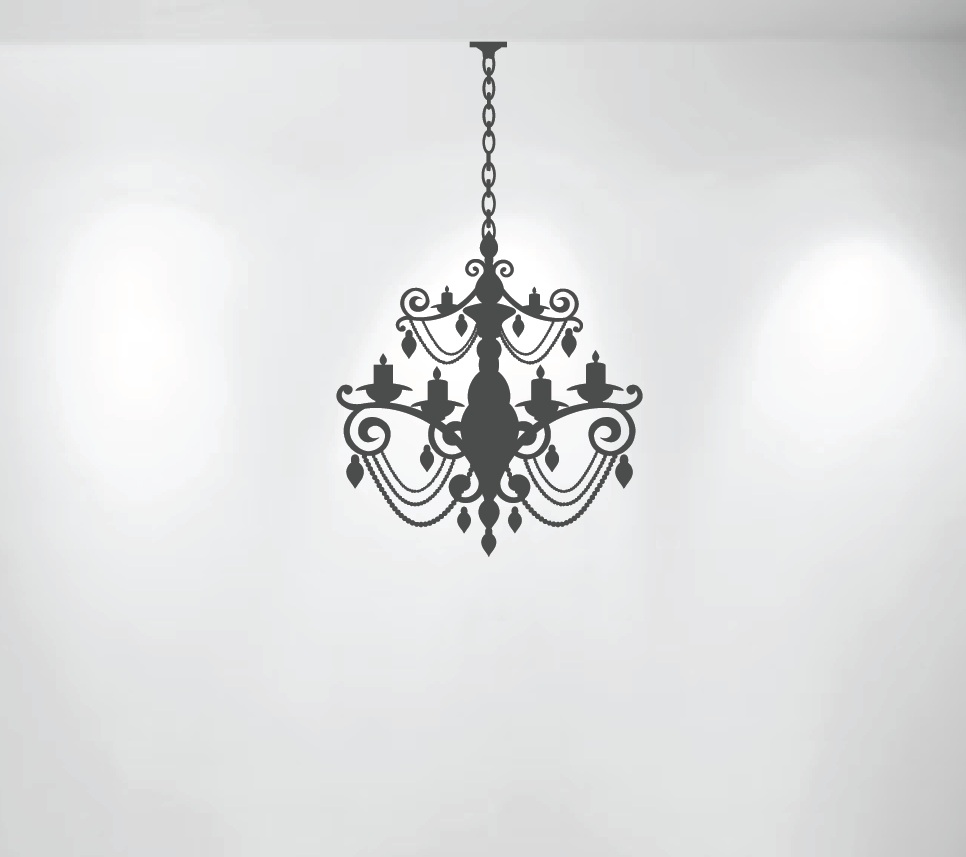 Chandelier wall stencil wall stencil crystal chandelier template for chandelier stencils chandelier reusable stencil chandelier wall stencil aloadofball Image collections