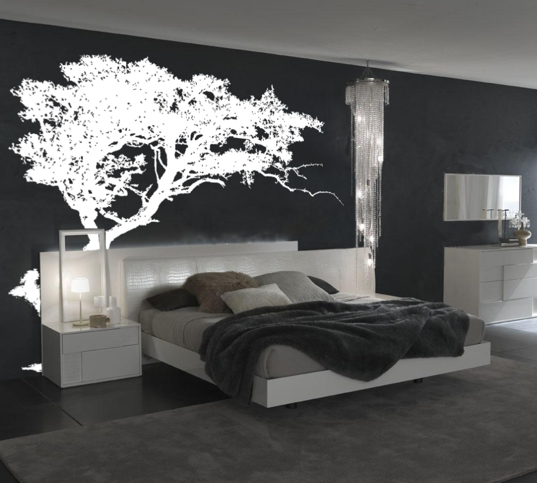 Large Wall Tree Decal Forest Decor Vinyl Sticker Highly Detailed ...