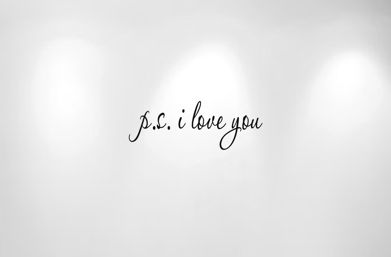 ps i love you logo viewing gallery